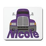 Trucker Nicole Mousepad