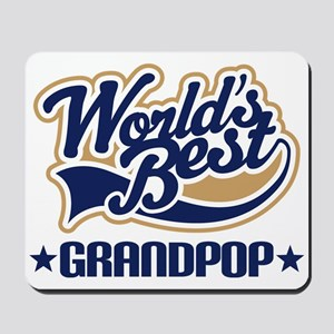 Worlds Best Grandpop Mousepad