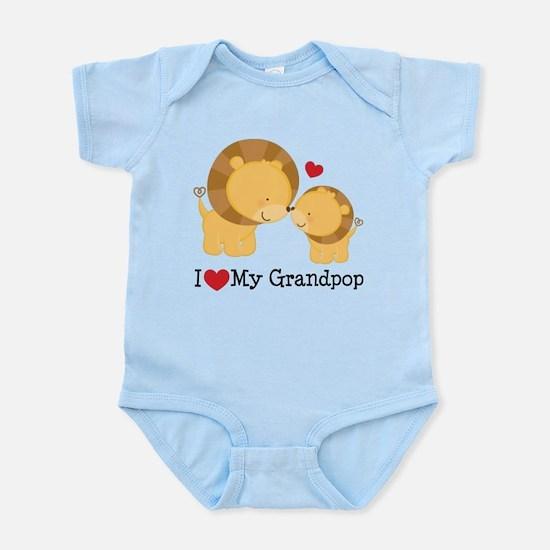 I Heart My Grandpop Infant Bodysuit