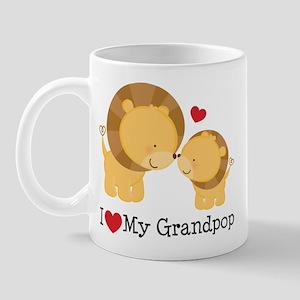 I Heart My Grandpop Mug