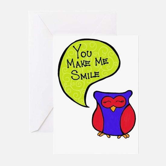 You Make Me Smile Greeting Cards (Pk of 20)