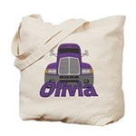 Trucker Olivia Tote Bag