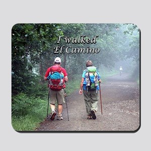 I walked El Camino, Spain, walkers 3 Mousepad