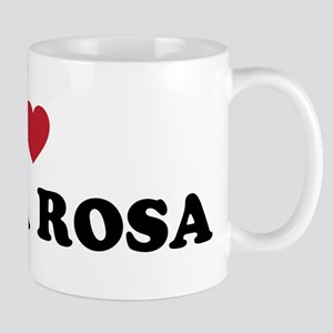 I Love Santa Rosa California Mug