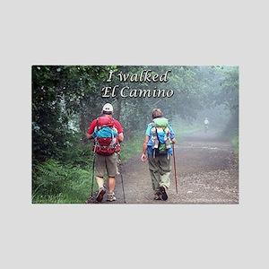 I walked El Camino, Spain, walkers 3 Magnets