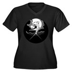 Ancient of Days Women's Plus Size V-Neck Dark T-Sh