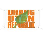 Orang Utan Republik Banner