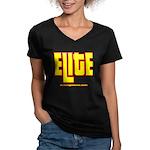ELITE 1 Women's V-Neck Dark T-Shirt