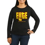 ELITE 1 Women's Long Sleeve Dark T-Shirt