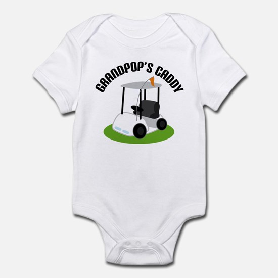 Grandpops Golf Caddy Infant Bodysuit