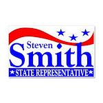Smith 4 Rep Car Magnet 20 x 12