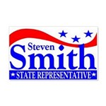 Smith 4 Rep 20x12 Wall Decal