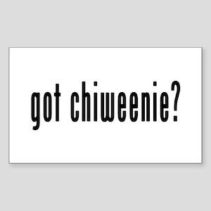 GOT CHIWEENIE Sticker (Rectangle)