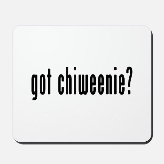 GOT CHIWEENIE Mousepad