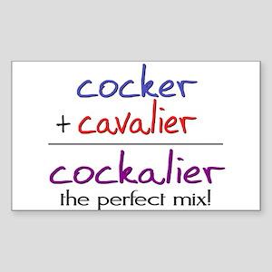 Cockalier PERFECT MIX Sticker (Rectangle)