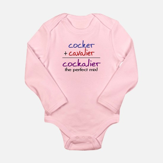 Cockalier PERFECT MIX Long Sleeve Infant Bodysuit