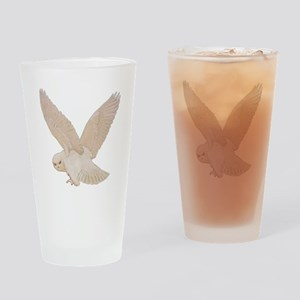 owl2_SQ_NEW copy Drinking Glass