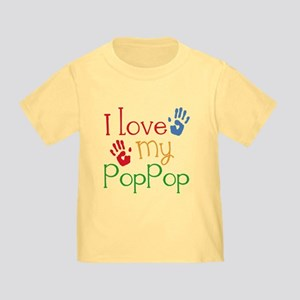 I Love PopPop Toddler T-Shirt