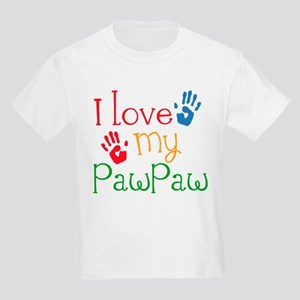 I Love PawPaw Kids Light T-Shirt
