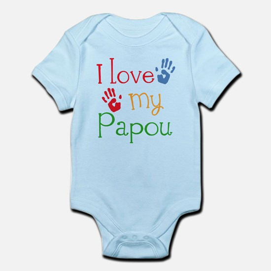 I Love Papou Infant Bodysuit