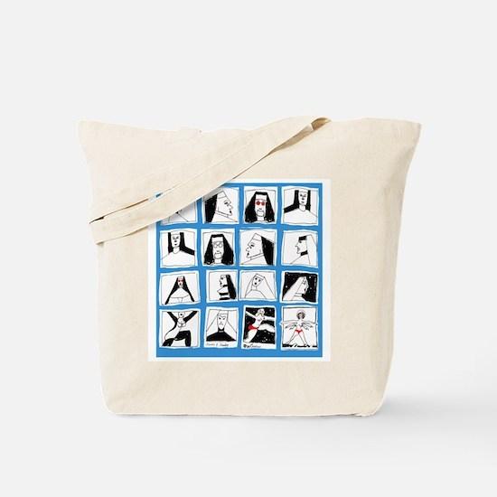NUNS and NUDES Tote Bag