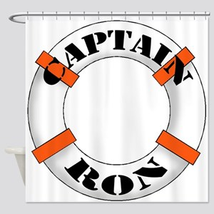 Captain Ron Shower Curtain