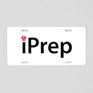 iPrep Aluminum License Plate