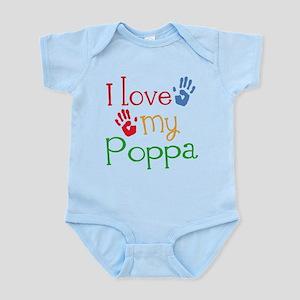 I Love Poppa Infant Bodysuit