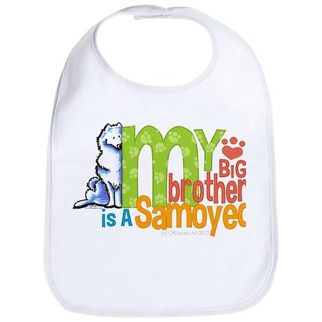 Big Brother Samoyed Bib