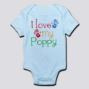 I Love Poppy Infant Bodysuit