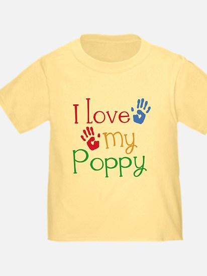 I Love Poppy T