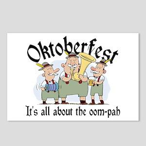Funny Oktoberfest Postcards (Package of 8)