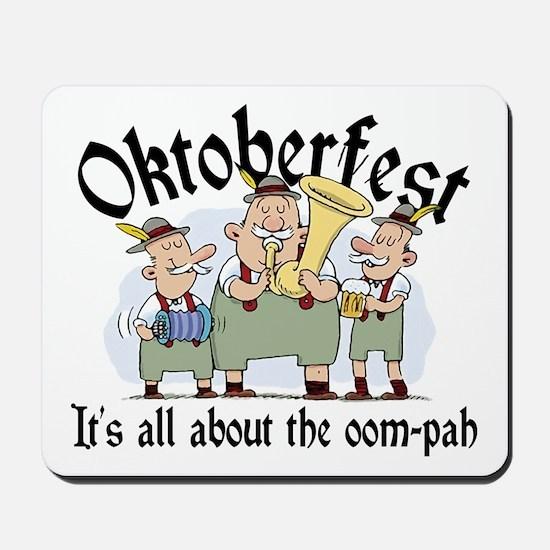 Funny Oktoberfest Mousepad