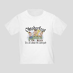 Funny Oktoberfest Toddler T-Shirt