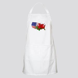 American Welsh Map Apron