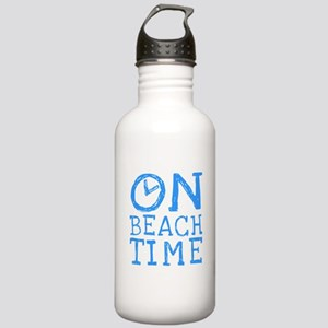 On Beach Time Stainless Water Bottle 1.0L