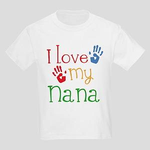 I Love Nana Kids Light T-Shirt