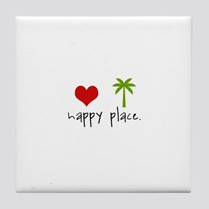 Happy Place Tile Coaster
