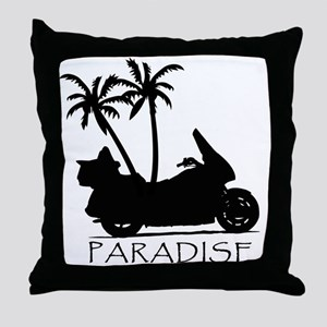 Wing in Paradise Throw Pillow