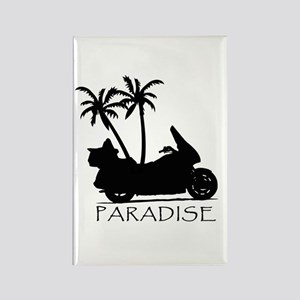 Wing in Paradise Rectangle Magnet