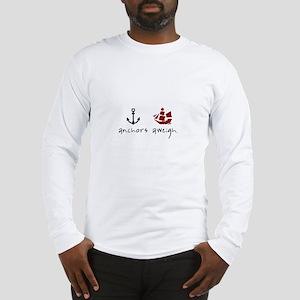 Anchors Aweigh Long Sleeve T-Shirt