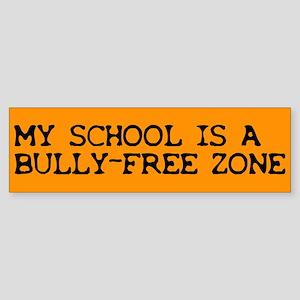 Bully-free Bumper Sticker
