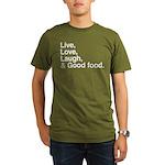 good food Organic Men's T-Shirt (dark)