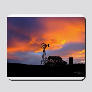 Sunset on the Farm Mousepad