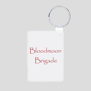 Bloodmoon Brigade Aluminum Photo Keychain