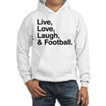 football Hooded Sweatshirt