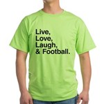 football Green T-Shirt