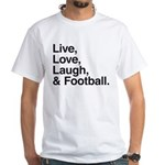 football White T-Shirt