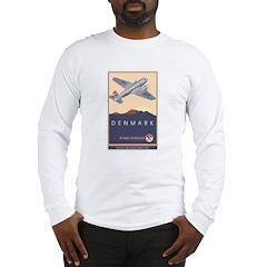 Denmark Long Sleeve T-Shirt