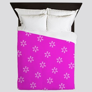 Pink Ribbon Breast Cancer Awareness Queen Duvet